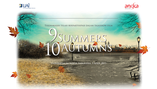 Talkshow Film 9 Summers 10 Autumns